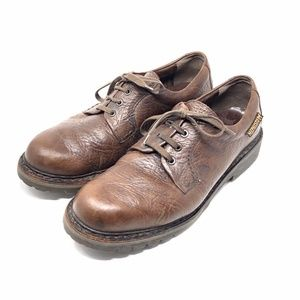 Mehpisto Leather Lace Up Oxford Comfort